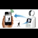Caméra et alarme WIFI 4 en 1 via Smartphone