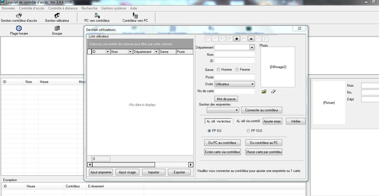 logiciel de pointage zk