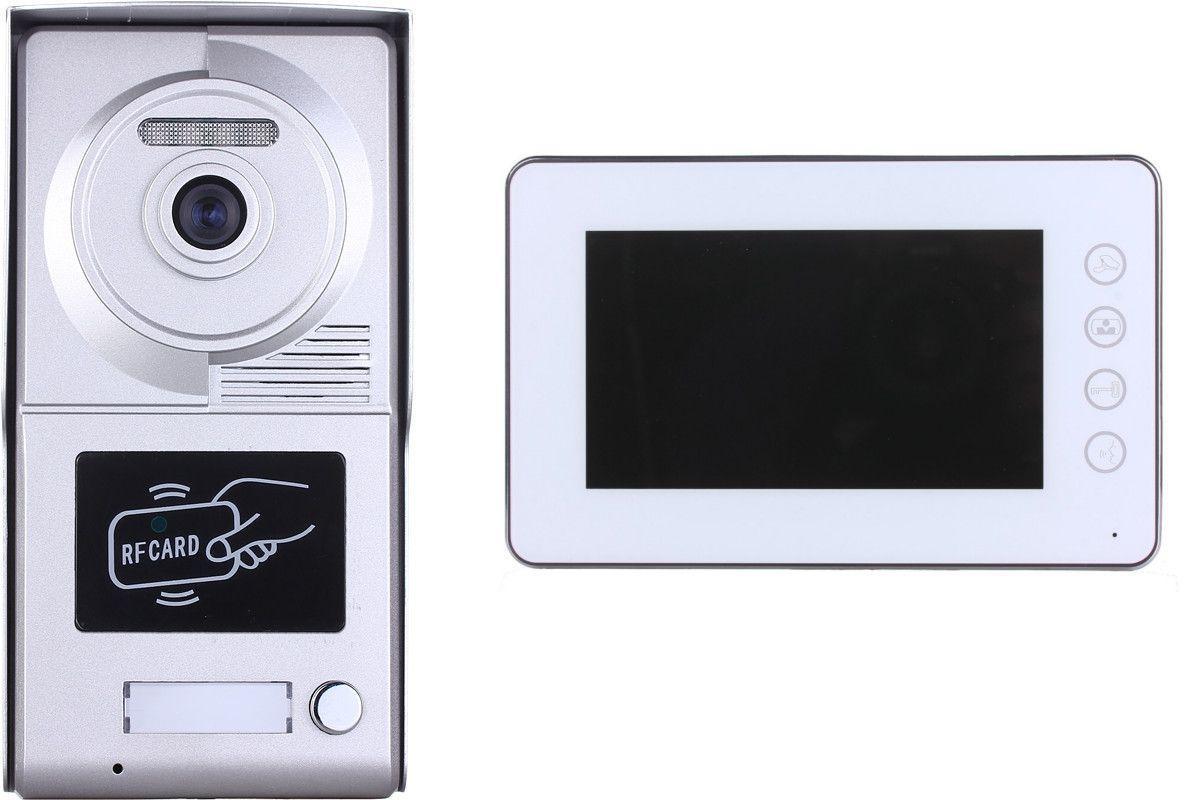 interphone vid o cardsv2 avec lecteur de badge rfid bt security. Black Bedroom Furniture Sets. Home Design Ideas