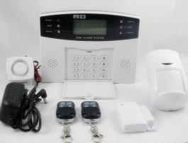 Kit alarme SECURE anti intrusion sans fil GSM