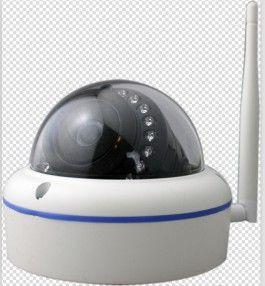Camera WIFI intérieur dome - Haute définition 1280 x 960