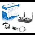 Kit vidéo-surveillance WIFI 4 caméras HD 1920x1080 - intéreur