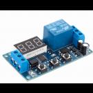 Relais électrique temporisé 12v - 0 à 999s - Affichage digital