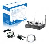 Kit vidéo-surveillance WIFI 4 caméras FullHD+ 3Mp 2304x1296 - extérieur