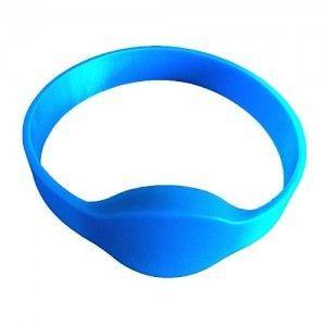 Bracelet Silicone étanche EM 125khz - bleu