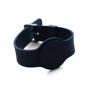 Bracelet Silicone Ajustable EM 125khz - Noir