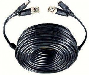 Câble coaxial + alimentation
