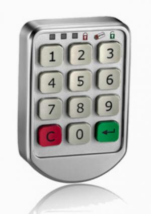 Serrure électronique CL110 pour casiers à code