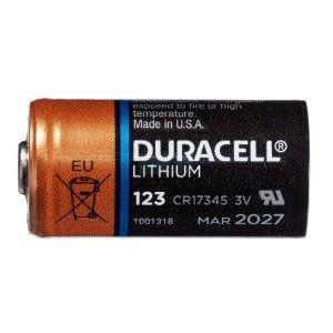 Pile Lithium CR123A  pour cylindre électronique - Duracell