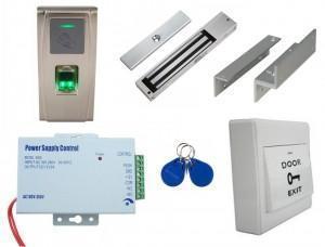 Kit contrôle accès biométrique