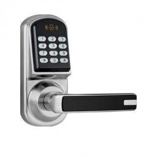 Serrure a code gauche argent BT88 BT Security