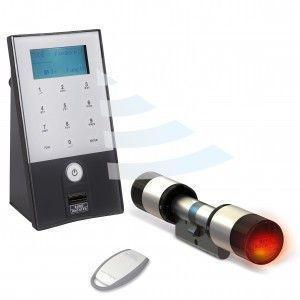 Cylindre électronique Burg Wächter Secu ENTRY PRO 7702 à code, biométrie, badge ou smartphone