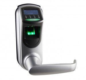 Serrure biometrique empreinte digitale L7000-U Argent