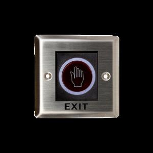 Bouton sans contact carré ZK TLEB101