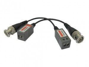 Kit de 2 baluns - Convertisseur BNC vers RJ pour signal video AHD/HDCVI/HDTVI