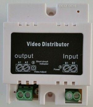 Distributeur vidéo pour interphone multi-appartements 2 fils