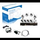 Kit vidéo-surveillance WIFI 8 caméras HD 1920x1080 - intéreur