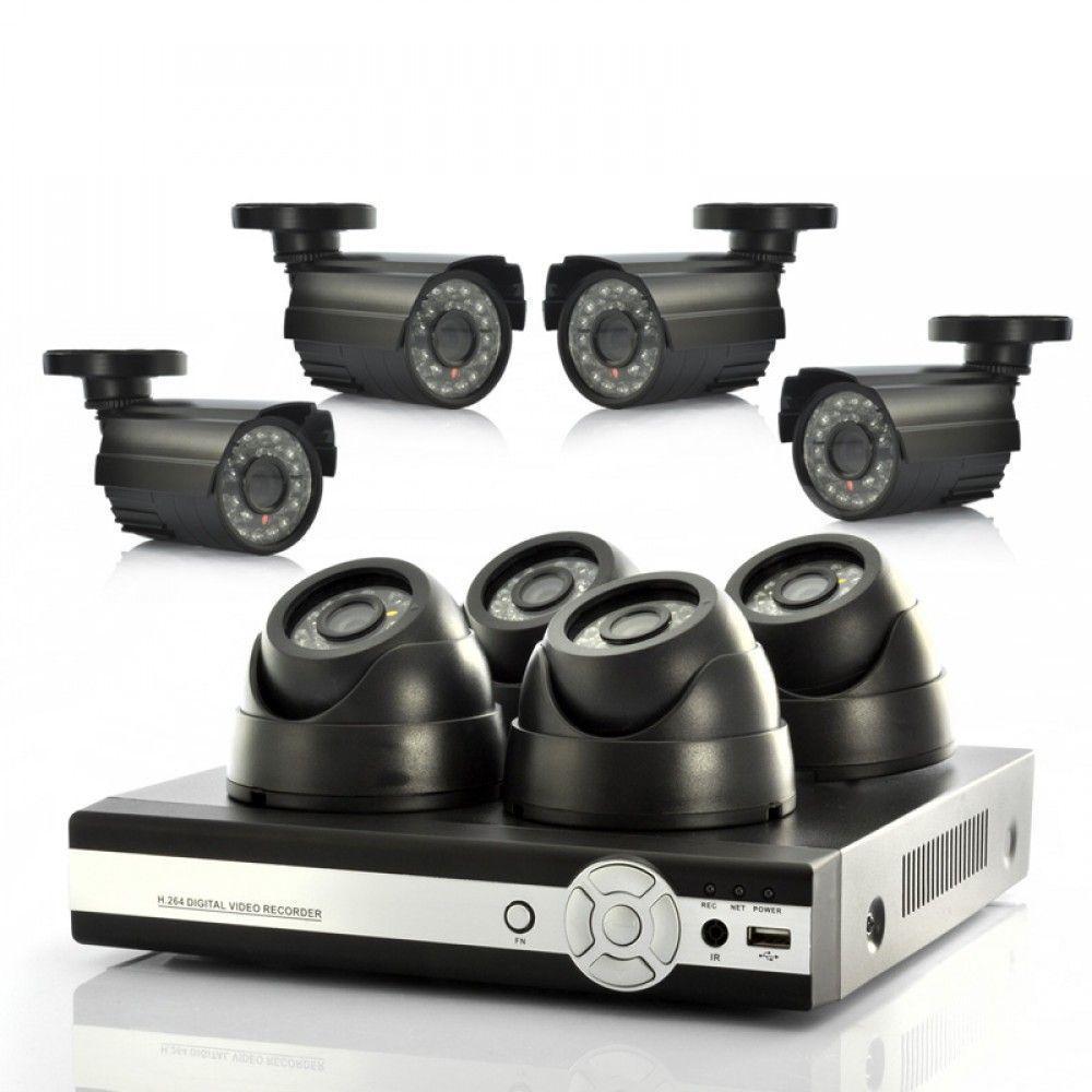 Kit DVR 8 caméras