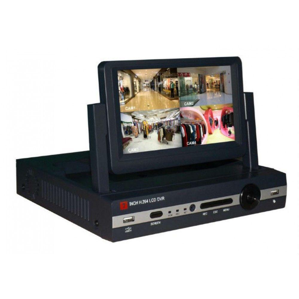 """DVR numérique D1 avec écran 7"""" intégré"""