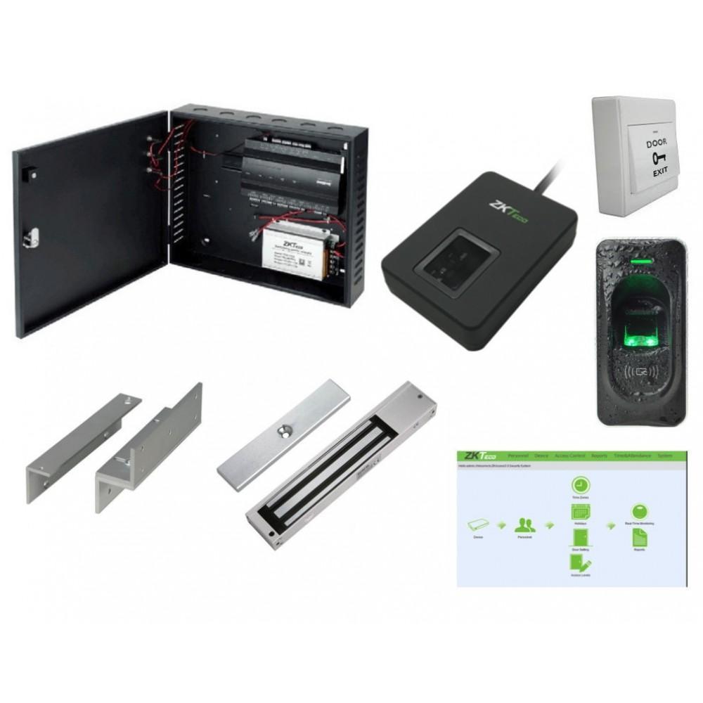 Contrôle d'accès biométrique centralisé