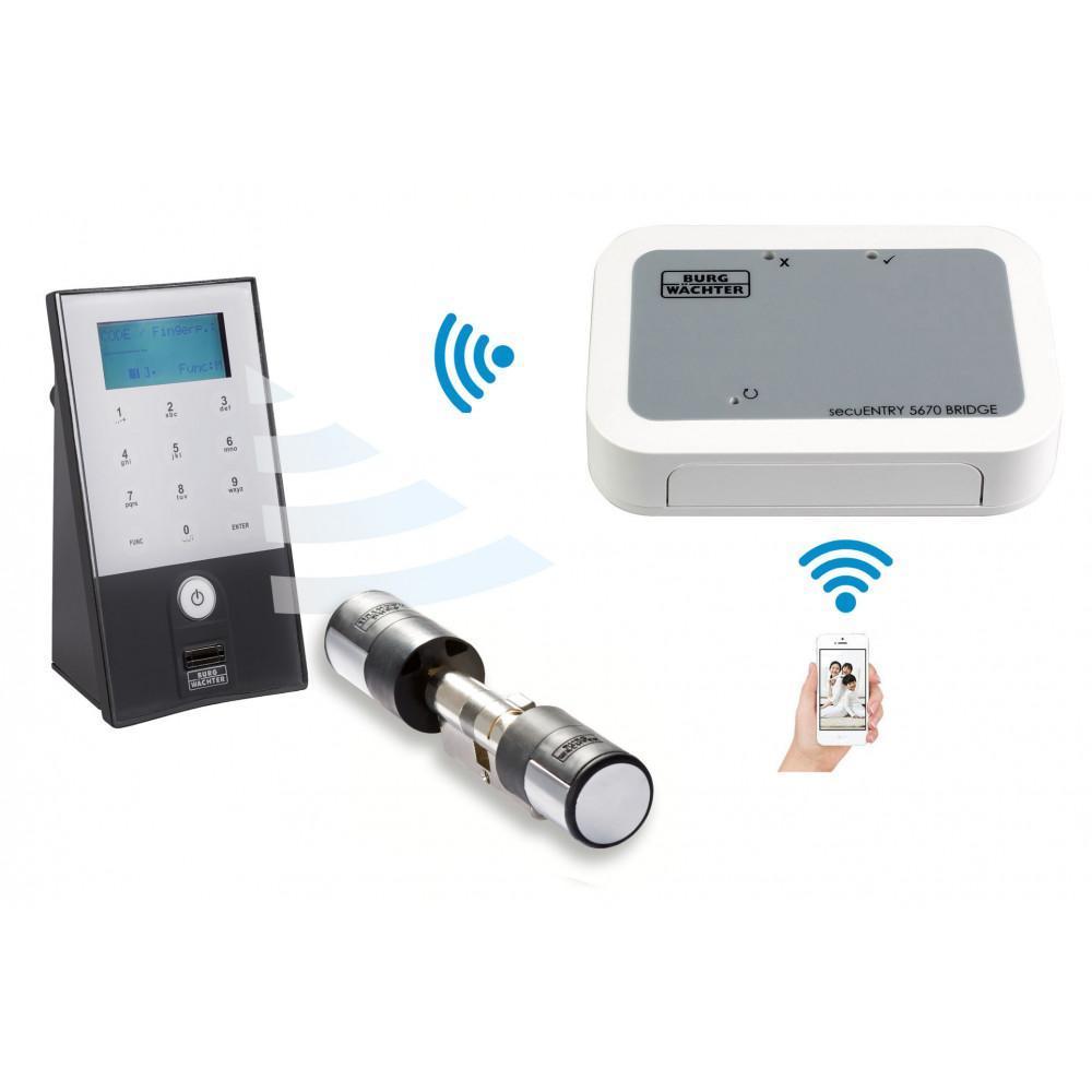 Serrure connectée biometrique