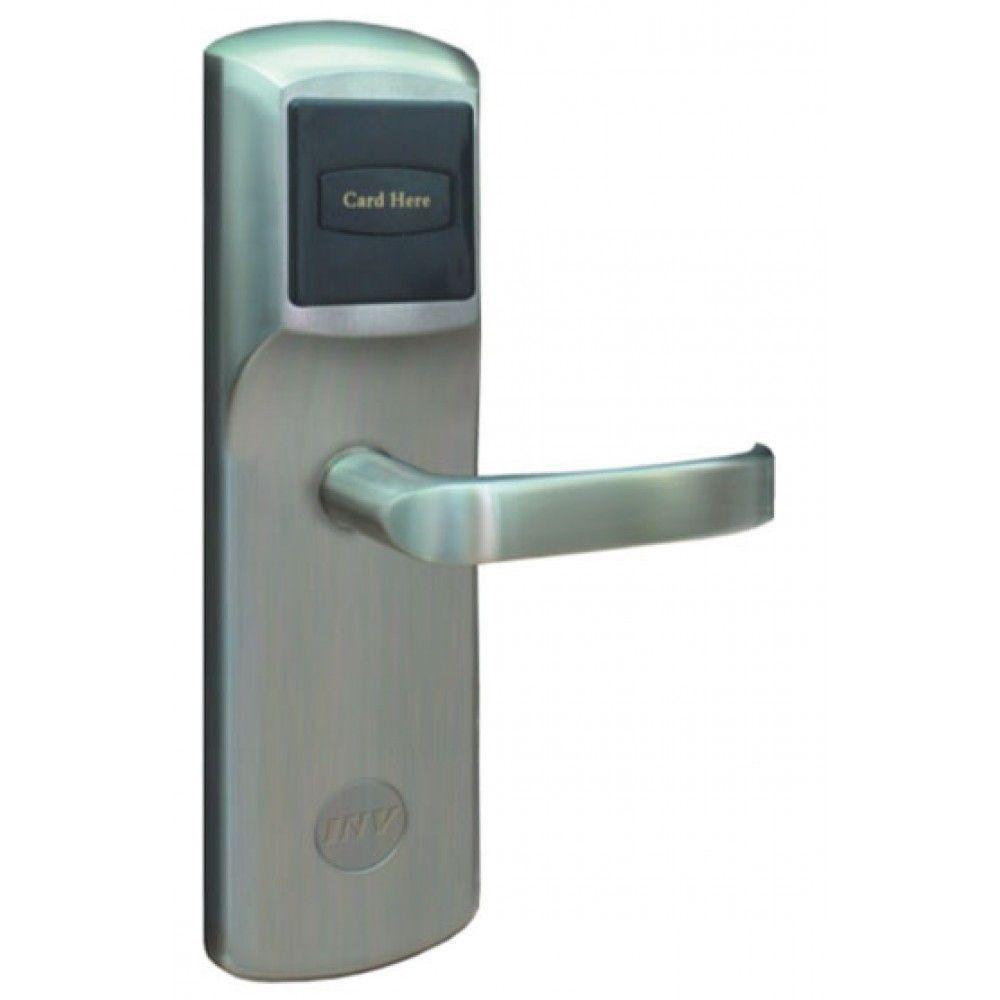 Serrure d'hotel RFID Zeno 900T1 argent droite BT Security.jpg