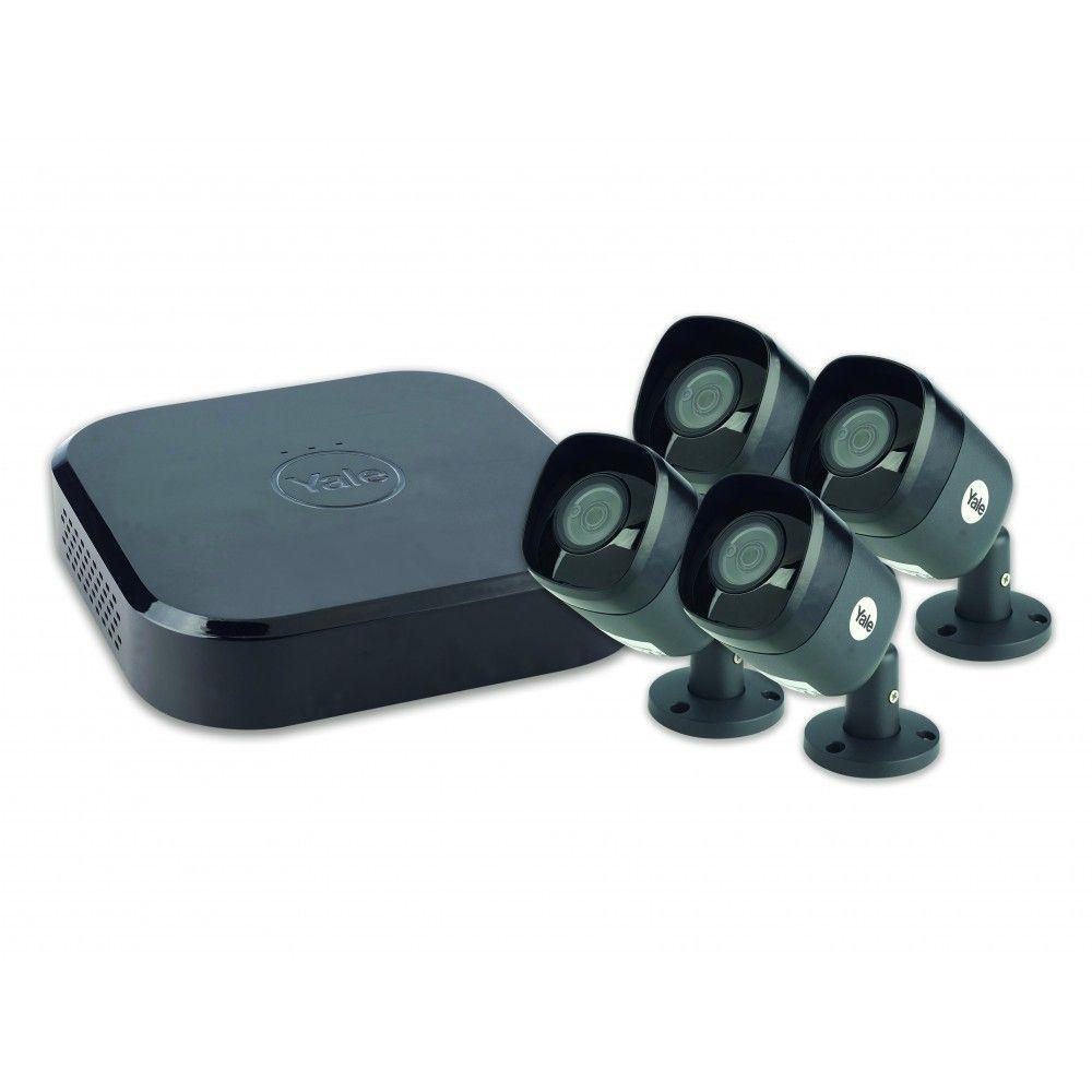 Yale Smart Living - Kit vidéosurveillance 2 caméras 4 canaux