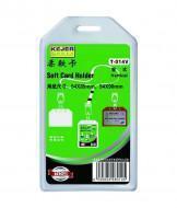 Porte carte semi rigide PVC - vertical