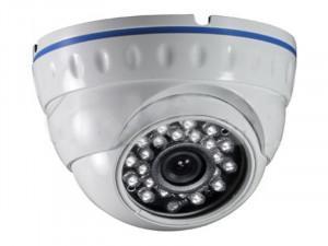 Caméra IP dôme métal HD Ready (720P) POE