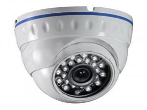Caméra IP dôme métal UltraHD 4K (8Mp / 3840x2160) POE