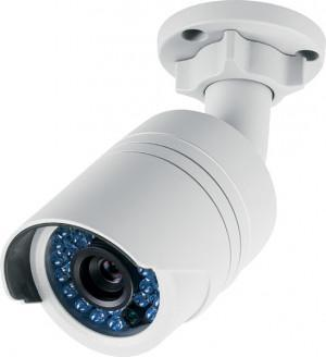 Caméra IP tube métal FullHD (2Mp / 1920x1080) POE
