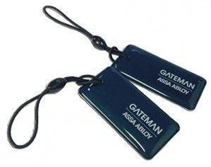 Lot de 2 badges IREVO GATEMAN