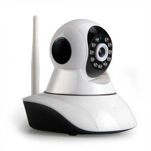 Camera Wifi HD720P motorisée - compatible smartphone & carte SD