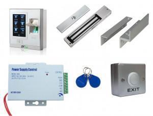 Kit contrôle accès biométrique - intérieur