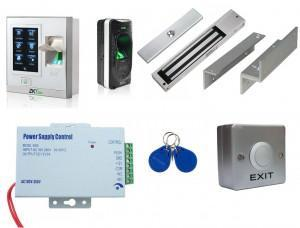Kit contrôle accès biométrique - extérieur