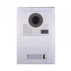 Platine de rue PL619-1 pour 1 appartement 2 fils gamme PL sans lecteur de badge RFID