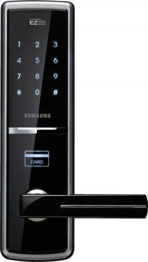 Serrure à badge RFID (badge de proximité) et codes SHS-5120 Samsung Ezon