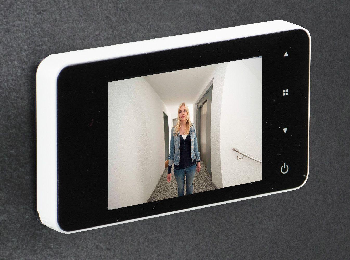 judas lectronique door eguard 8200 sonnette et prise de. Black Bedroom Furniture Sets. Home Design Ideas